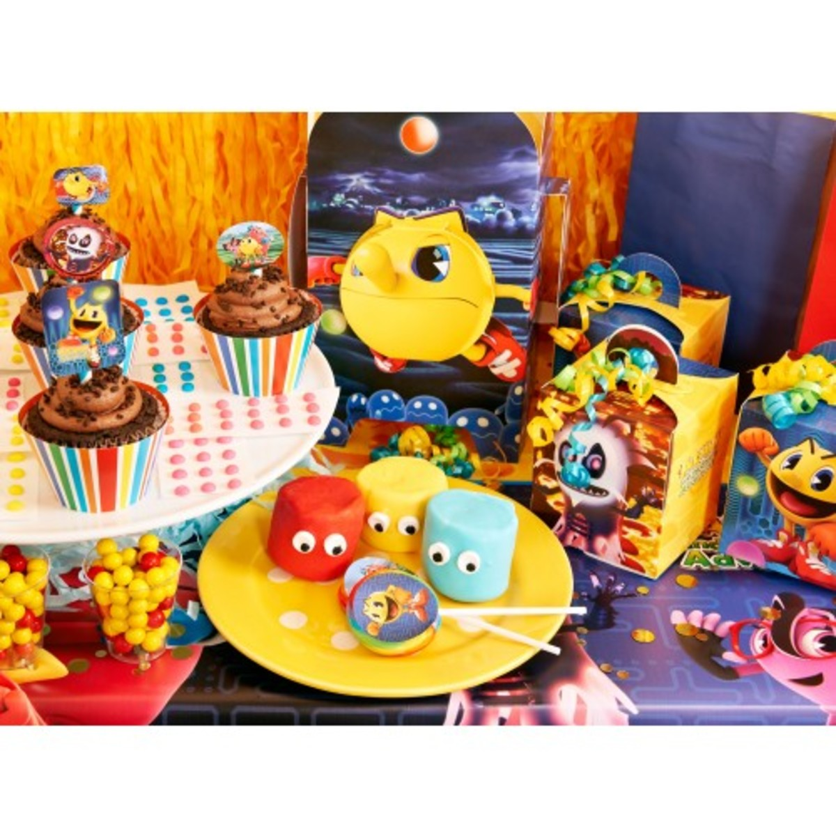 Pac-Man Party Supplies Packs