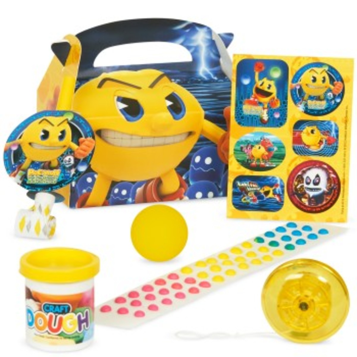 Prefilled Pac-Man Party favor Boxes
