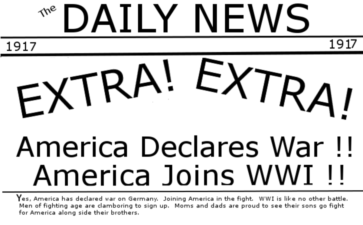 America Declares War on Germany
