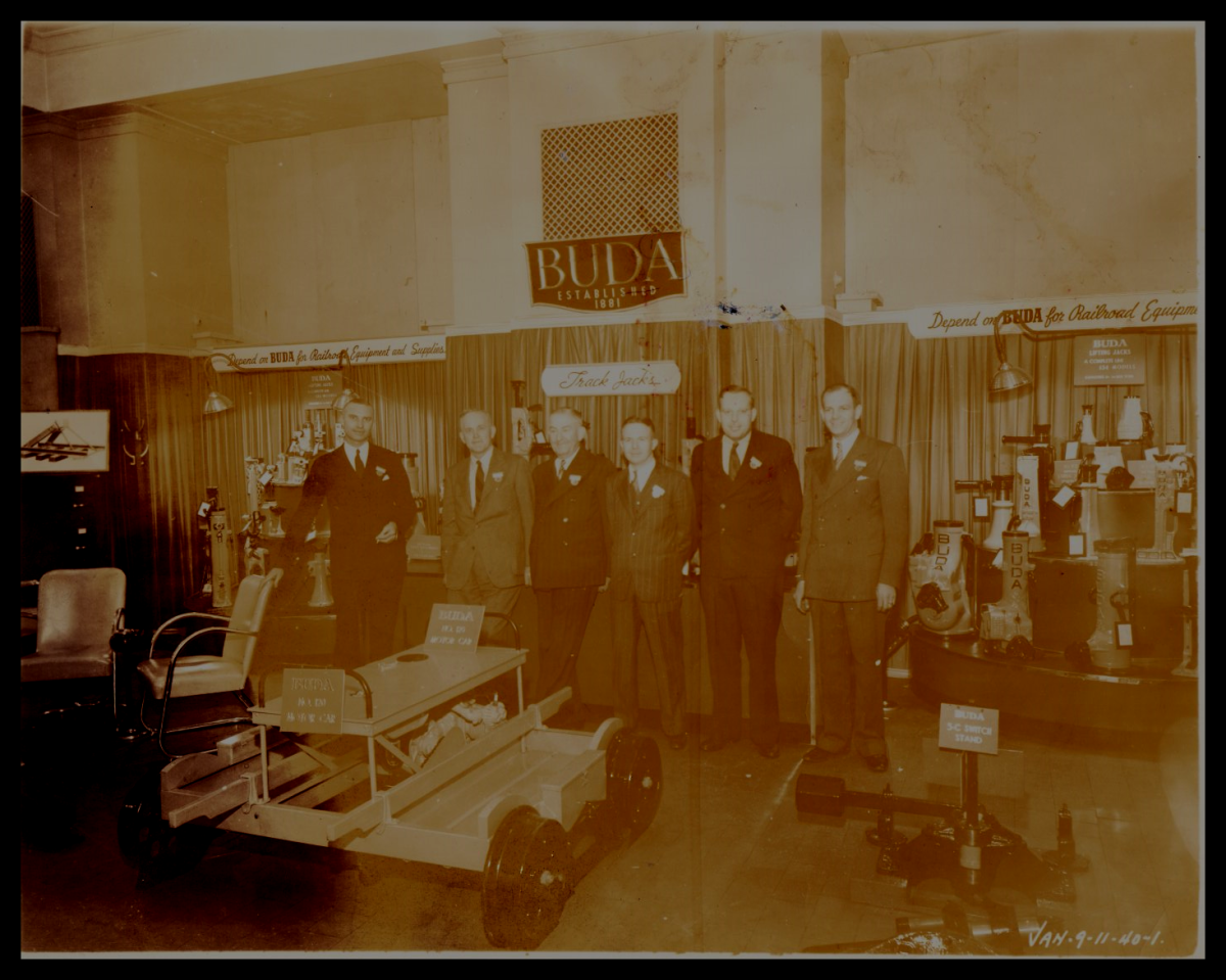 Great Grandfather Frank L. Gormley (3rd from the left in dark suit)