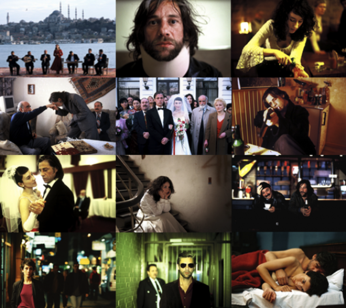 Movie Still shot collage of Head-On. A movie by Fatih Akin.