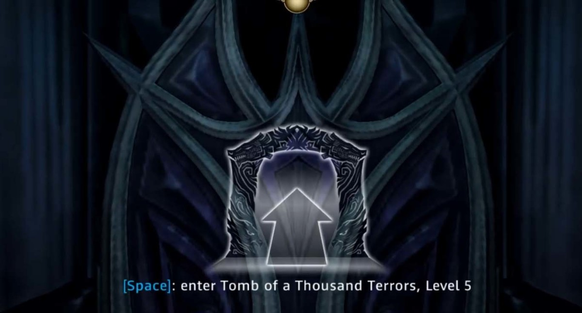 The tomb of a thousand terrors level 5 holds the dagger grandmaster training.