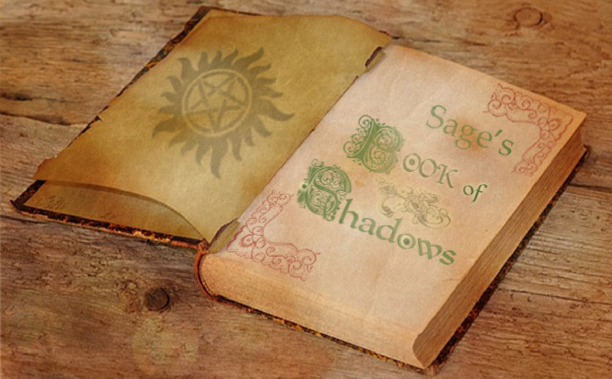 How to Make a Book of Shadows Using Adobe Photoshop Elements