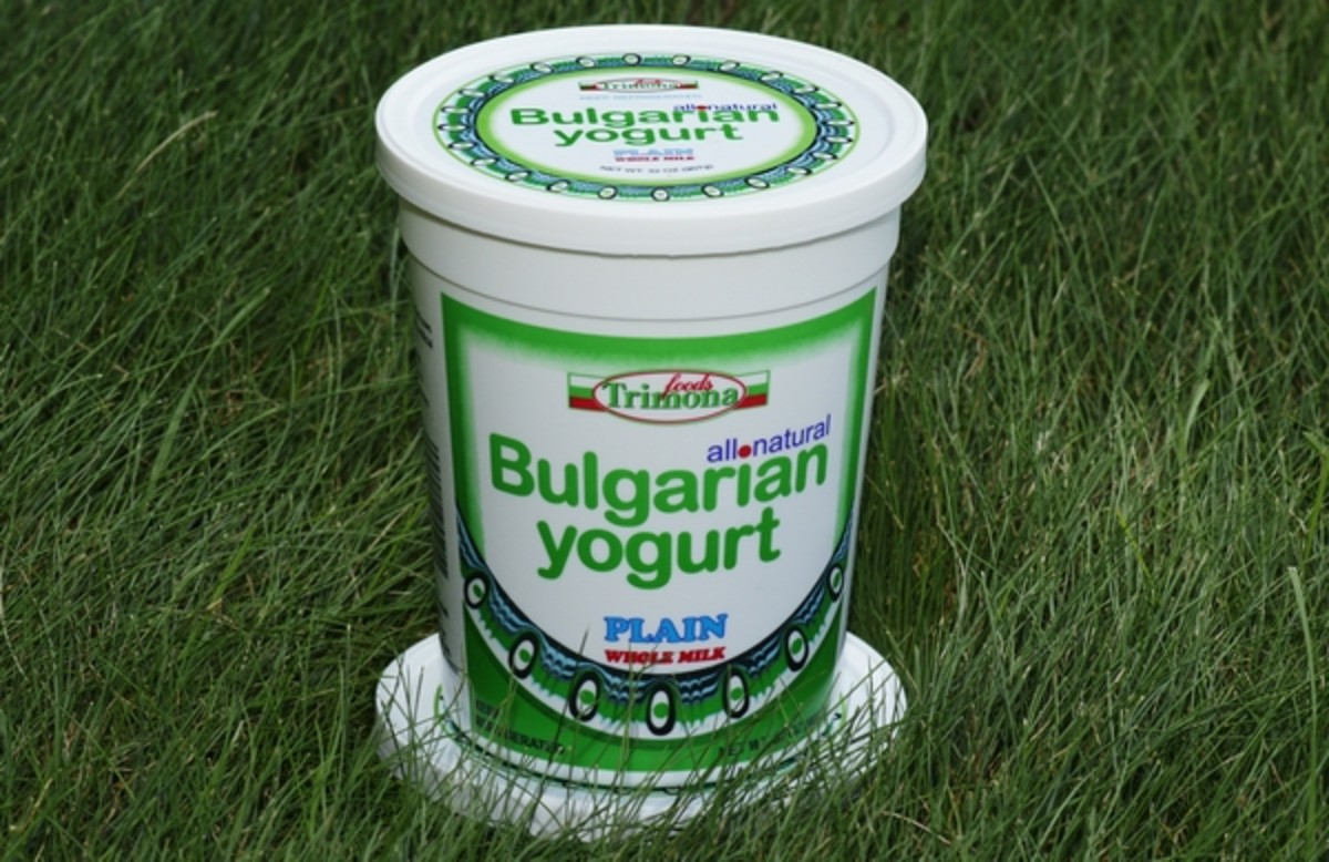 Bulgarian yogurt is considered to be the best in the world.