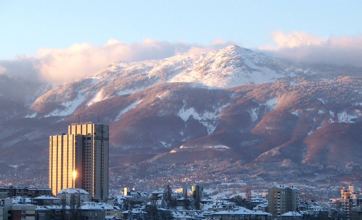 Sofia, Bulgaria is beautiful