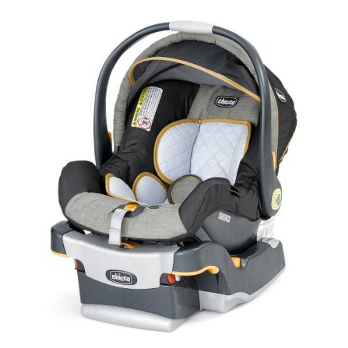 The Chicco Keyfit 30 car seat.