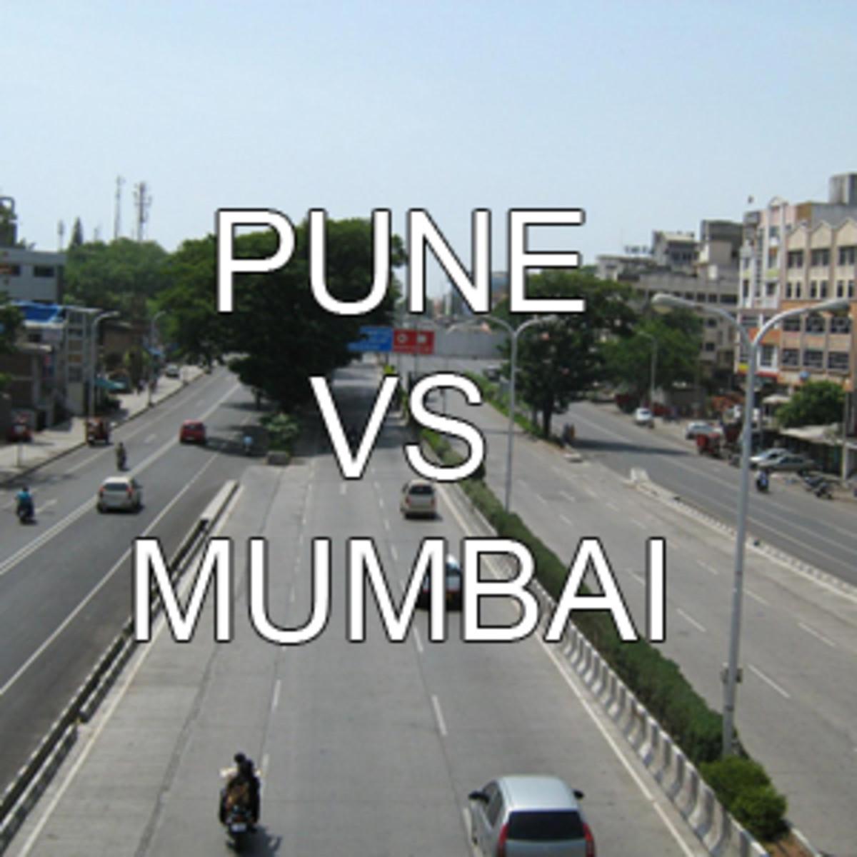 Pune Vs Mumbai