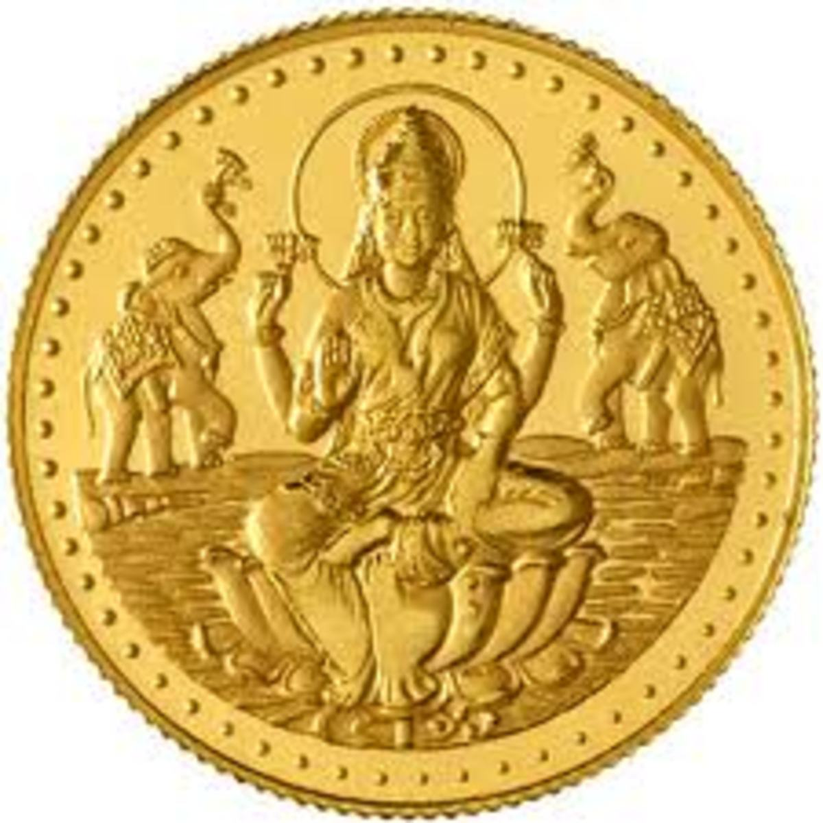 Laxmi Gold Coin
