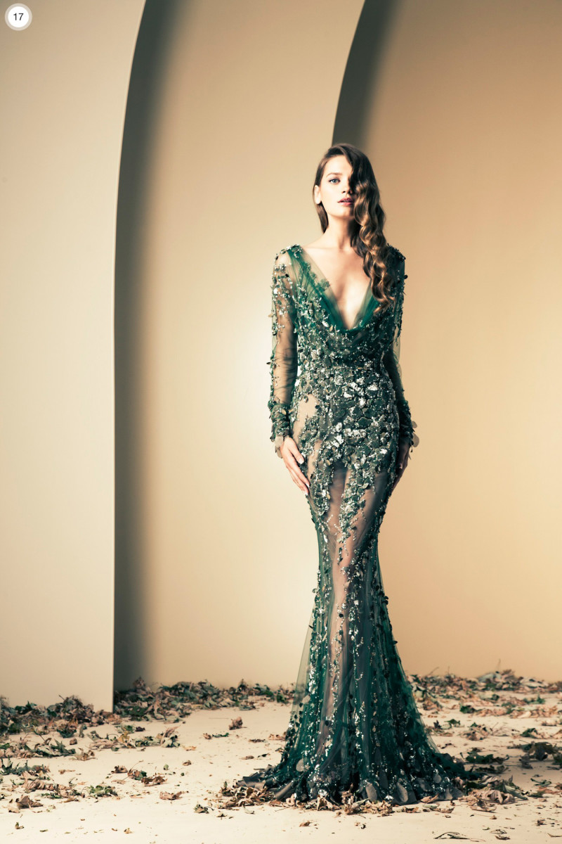 Beautiful Green gown by Nakad