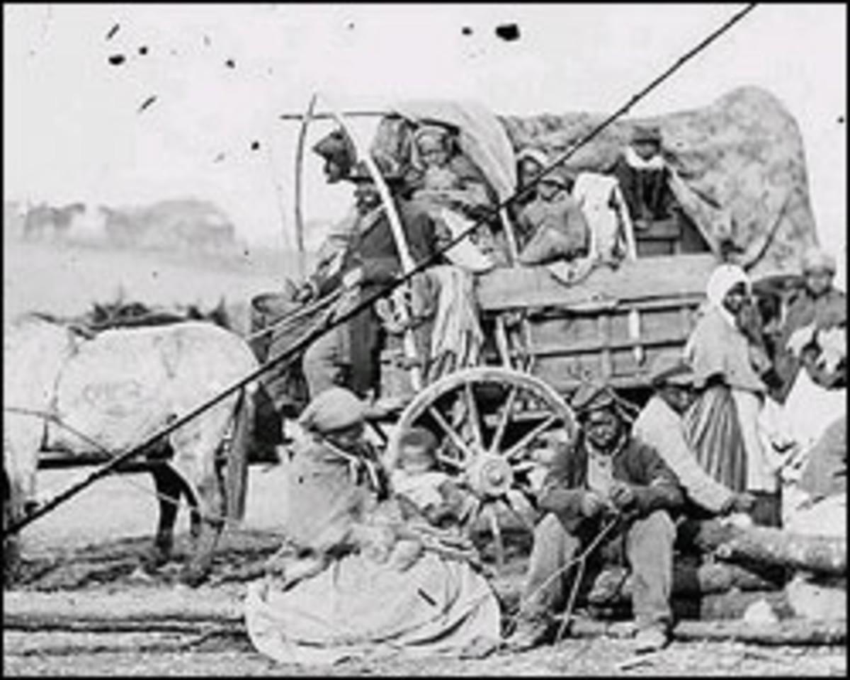 Escaped, refugee slaves