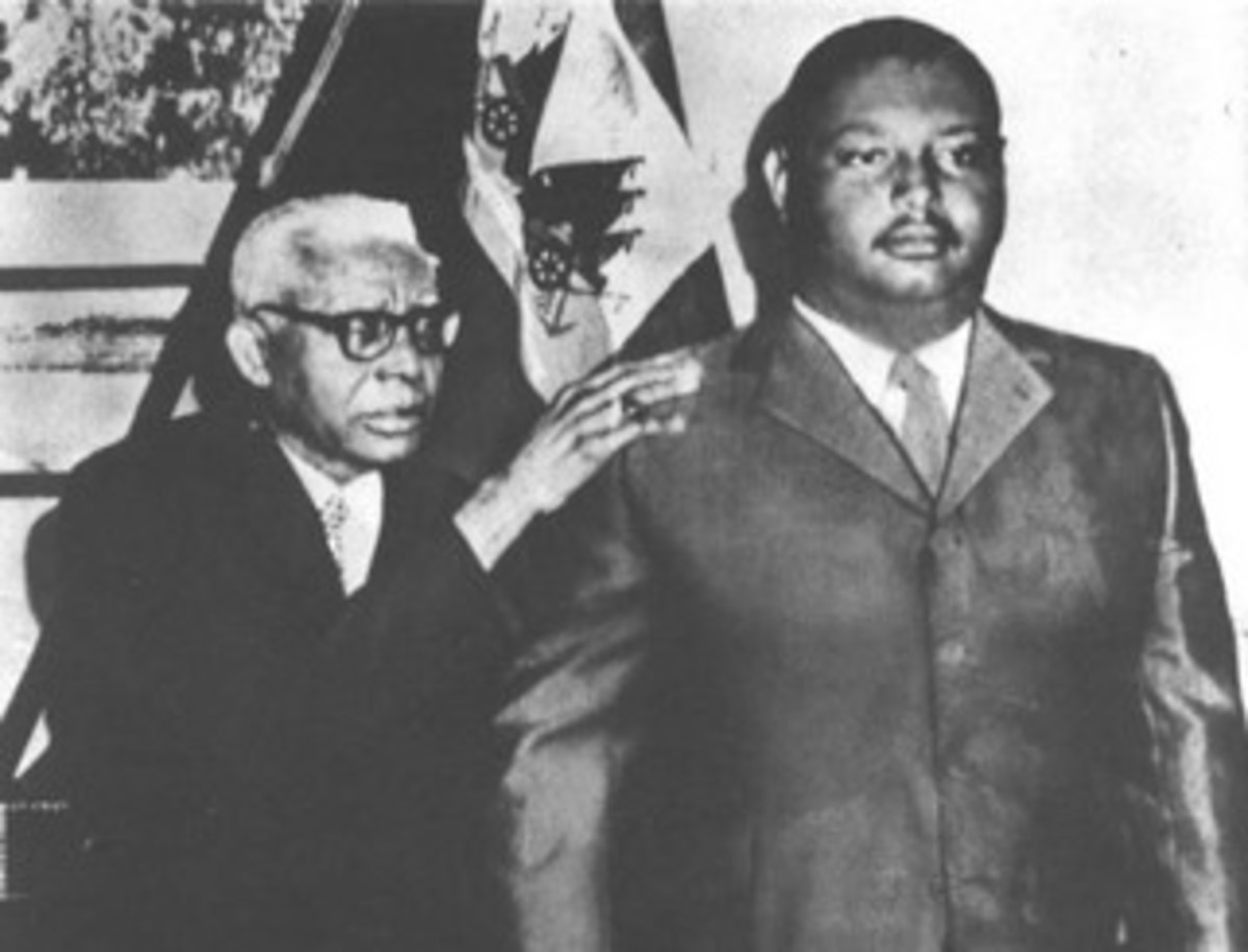 Haitian dictator and his son, Jean Claude