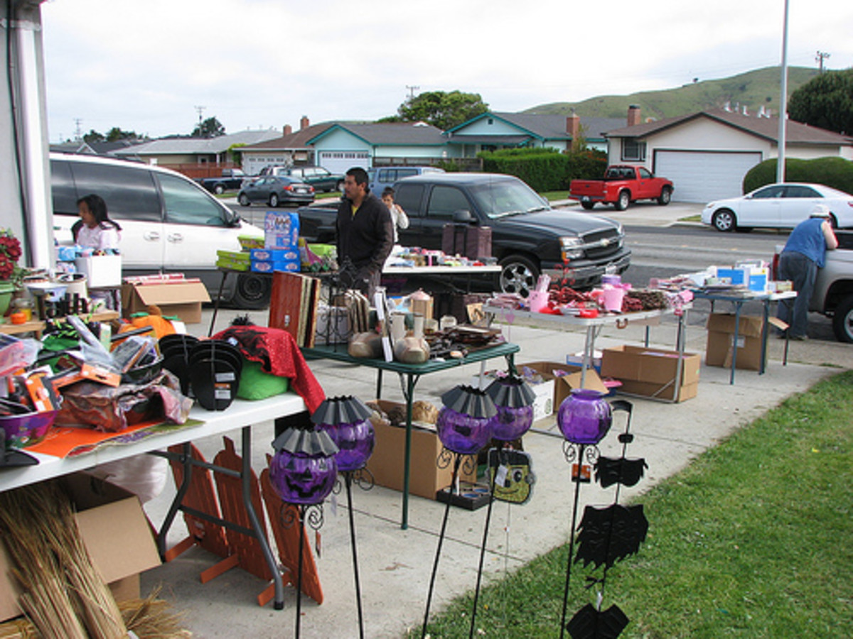 The 10 Worst Garage Sale Mistakes