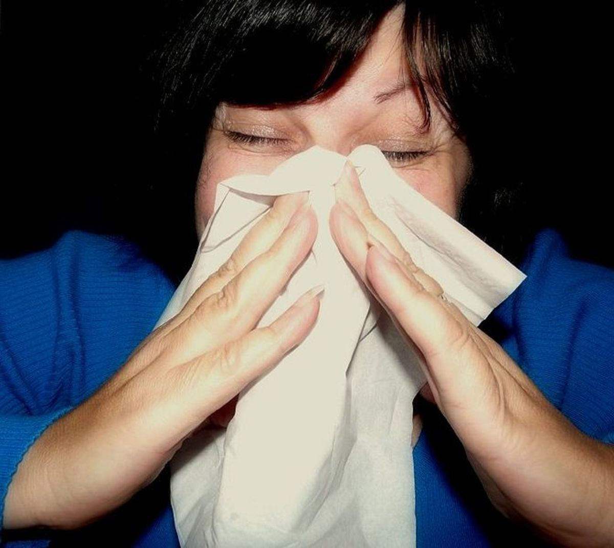 Cover that cough or sneeze!