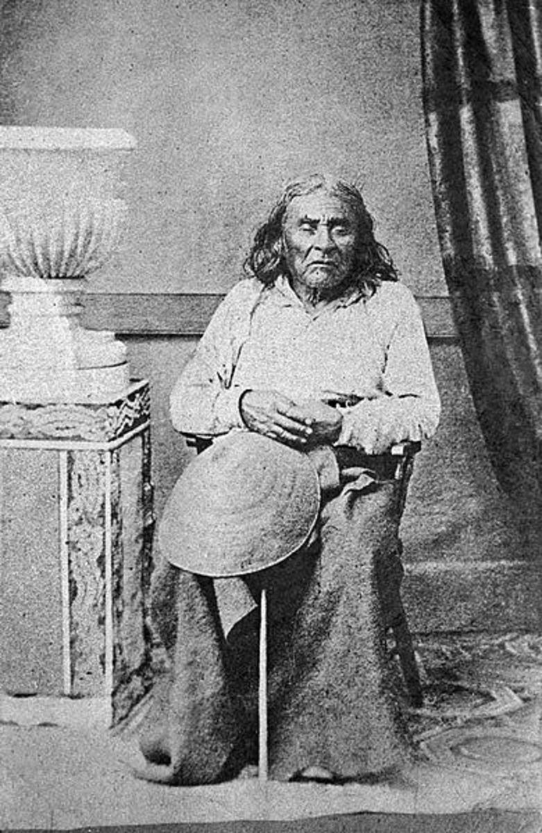 Chief Seattle at the age of 86.