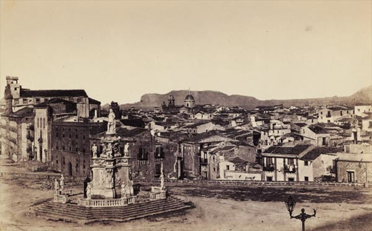 Palermo - Picture by Gustave Le Gray
