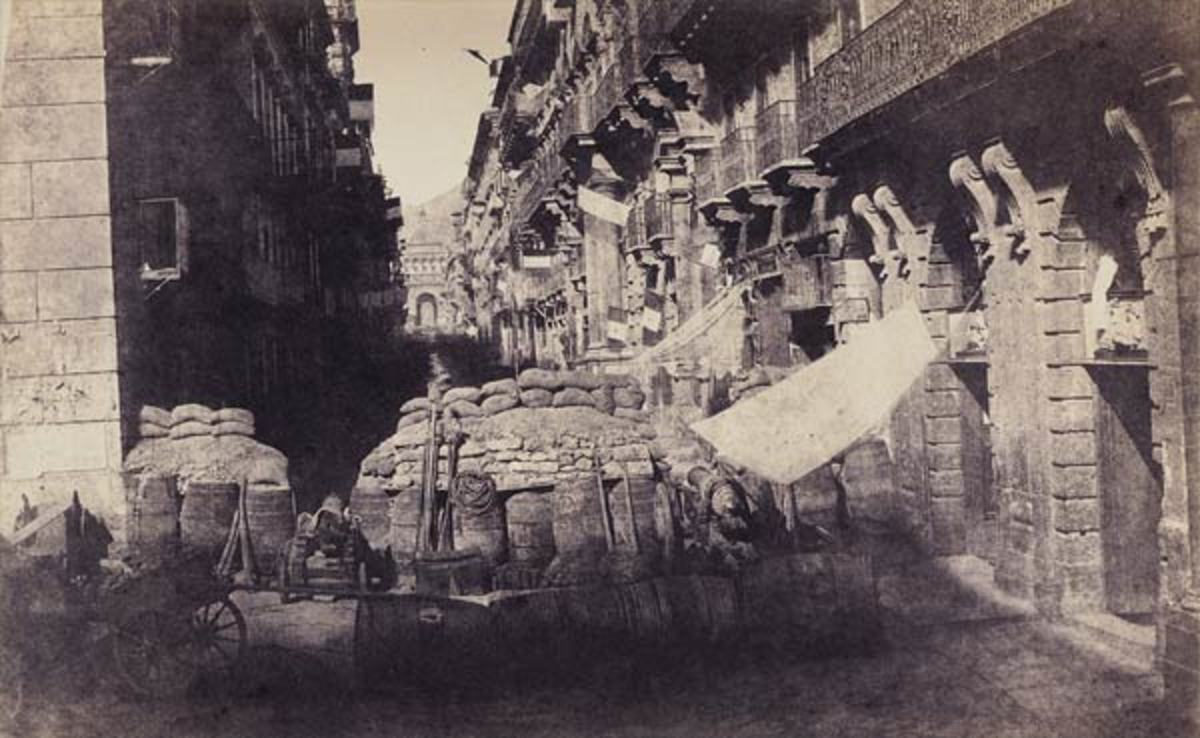 Palermo 1860, Gustave Le Gray Photo