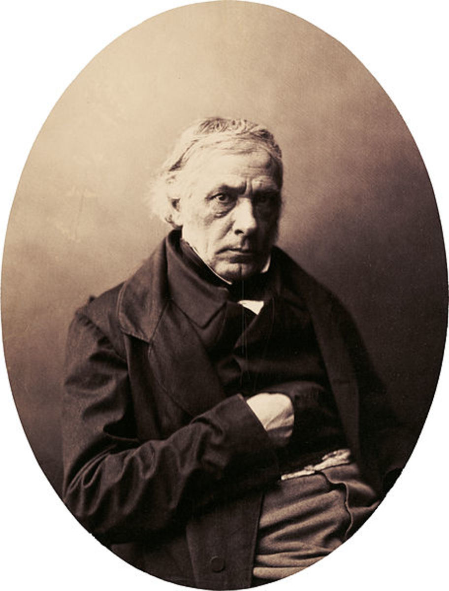 Victor Cousin by Gustave Le Gray, late 1850s.  A very excellent portrait.  It is quite impressive, that seems to almost capture the feelings themselves.