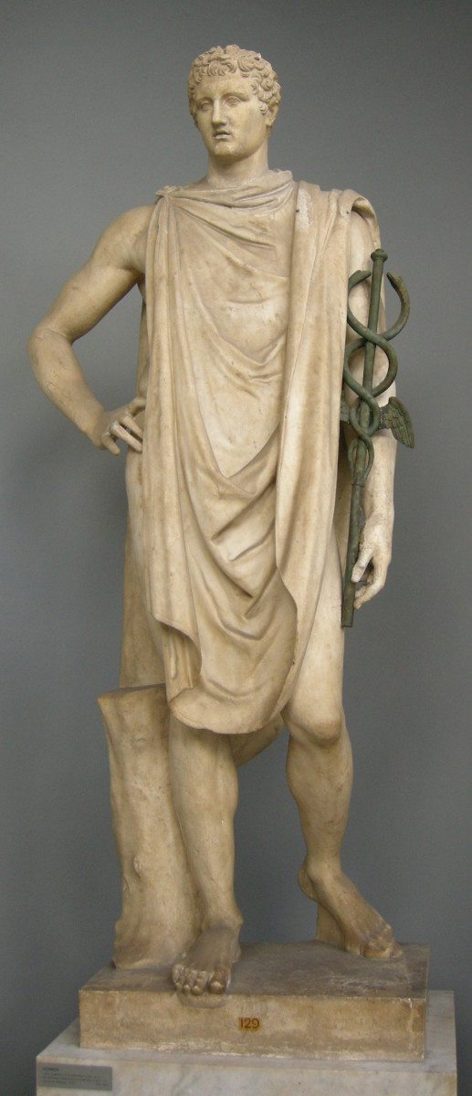 Hermes with Caduceus