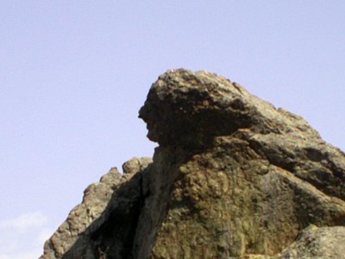 Niobe's Weeping Stone