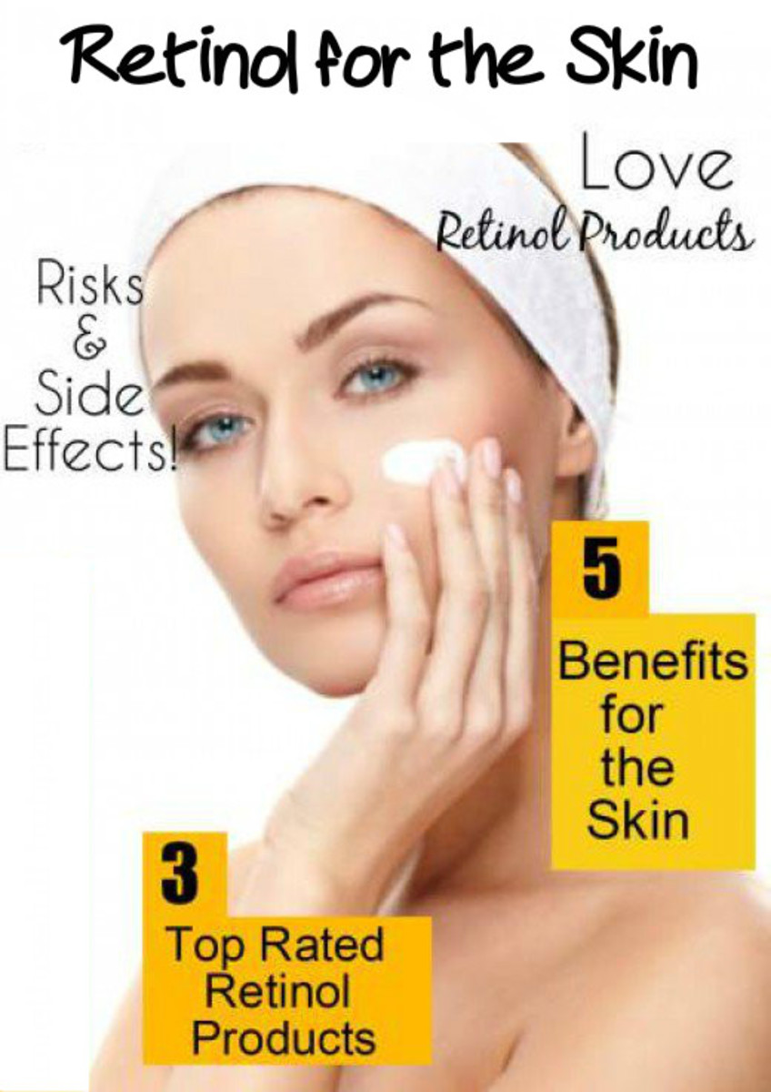 Use retinol products to boost the skin's texture and its overall appearance.