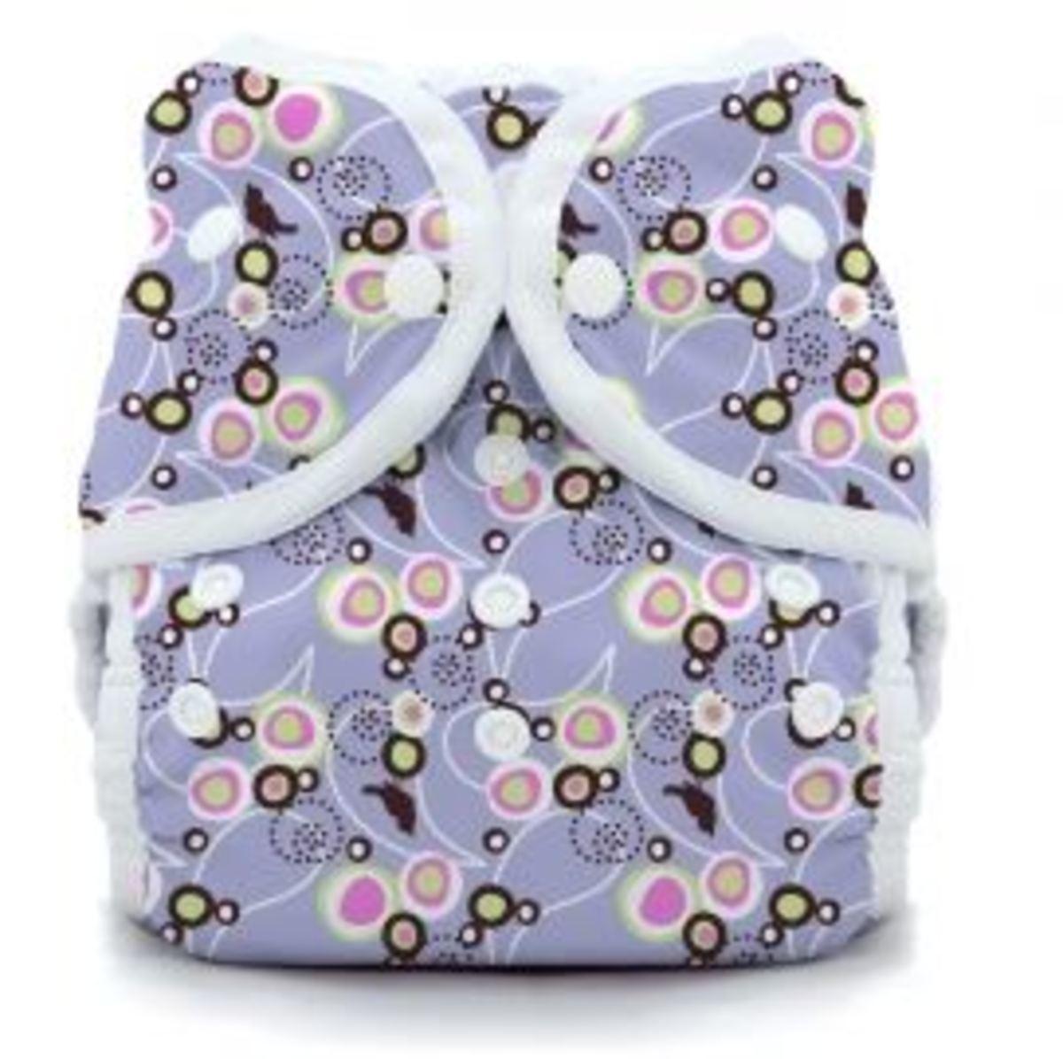 Baby Bird Lavender Thirsties Print