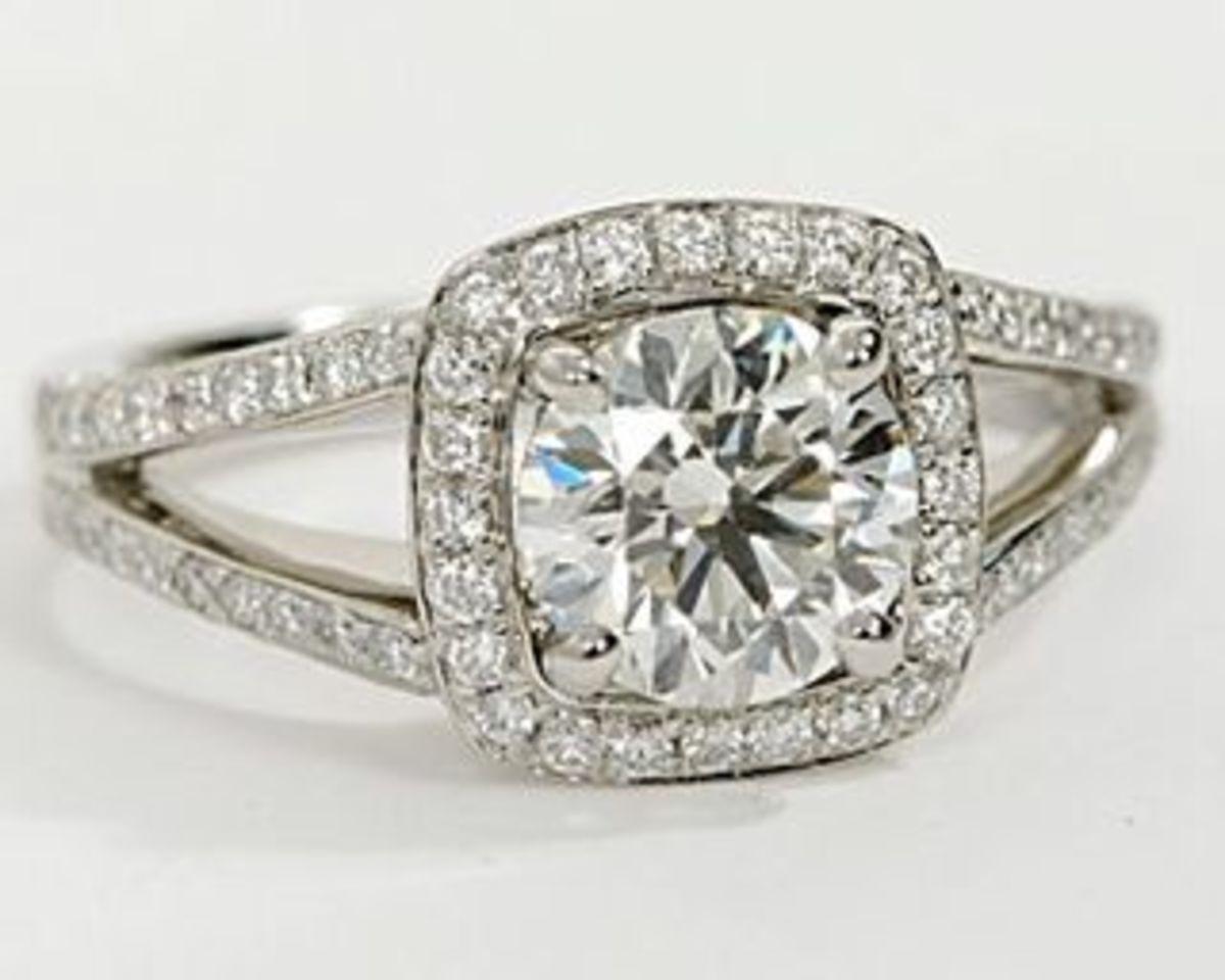 You CAN get a Monique L'hullier designer engagement ring under $10,000