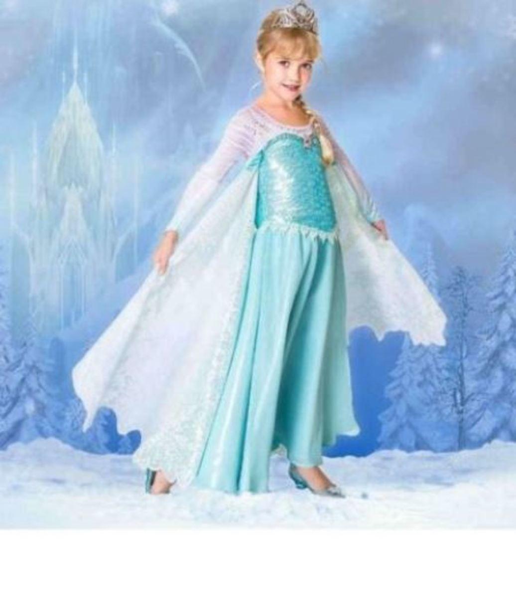 Disney Store Limited Edition Elsa Dress