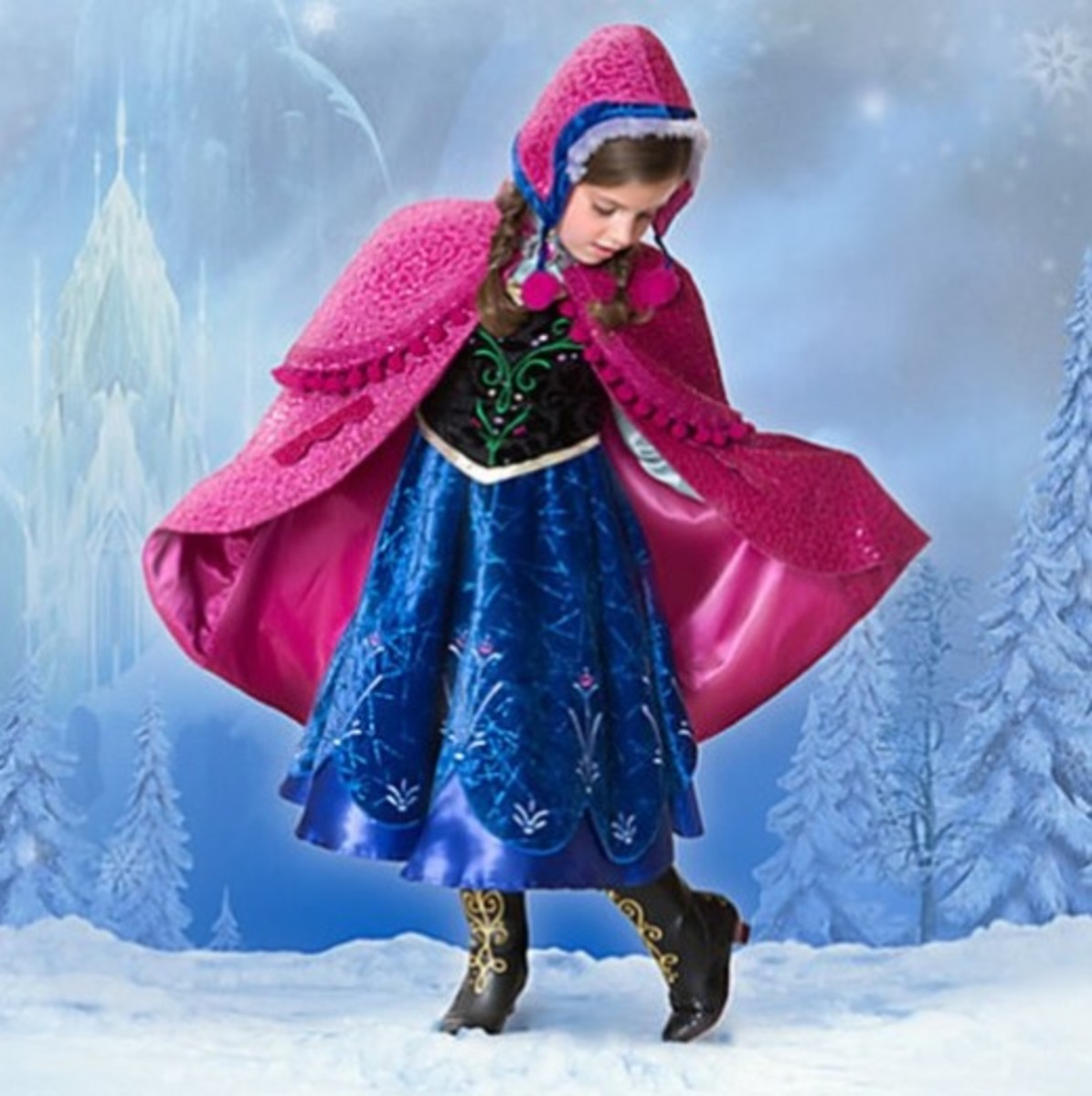 Disney Store Frozen Limited Edition Anna Dress