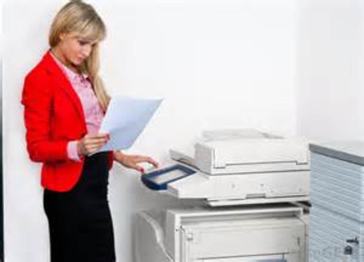 By using copy machines, the teacher can duplication information for many students.