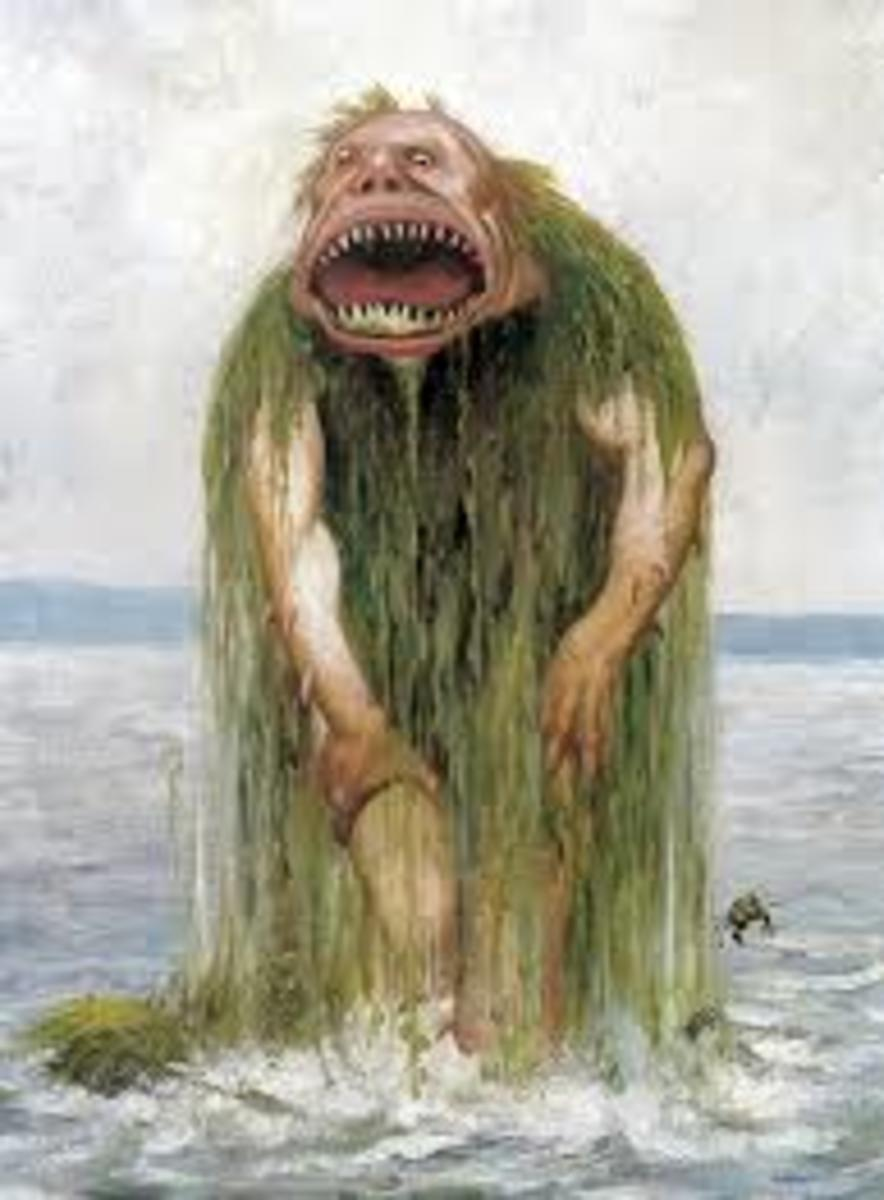 Norwegian See Troll, by Theodore Kittelsen (public domain)