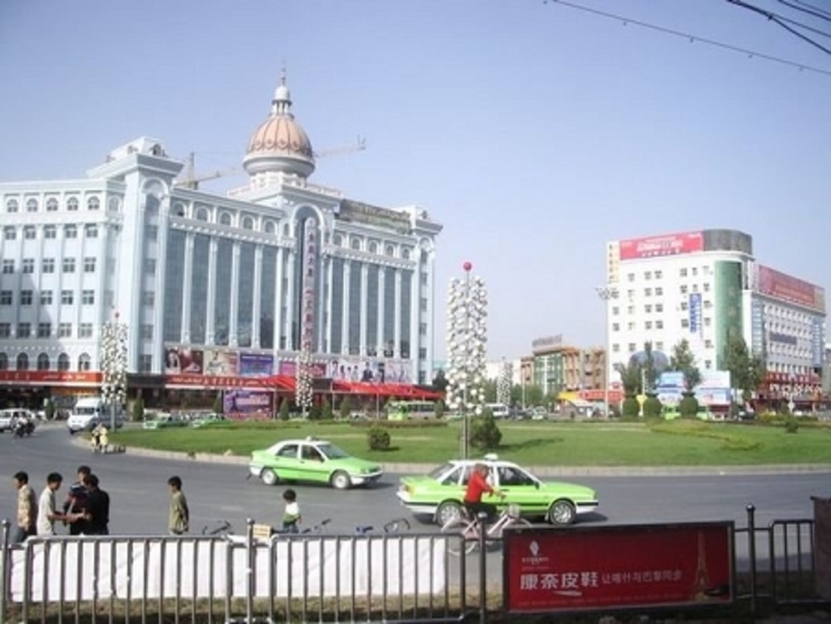 Kashgar - China's westernmost city located in the Xinjiang Autonomous Region