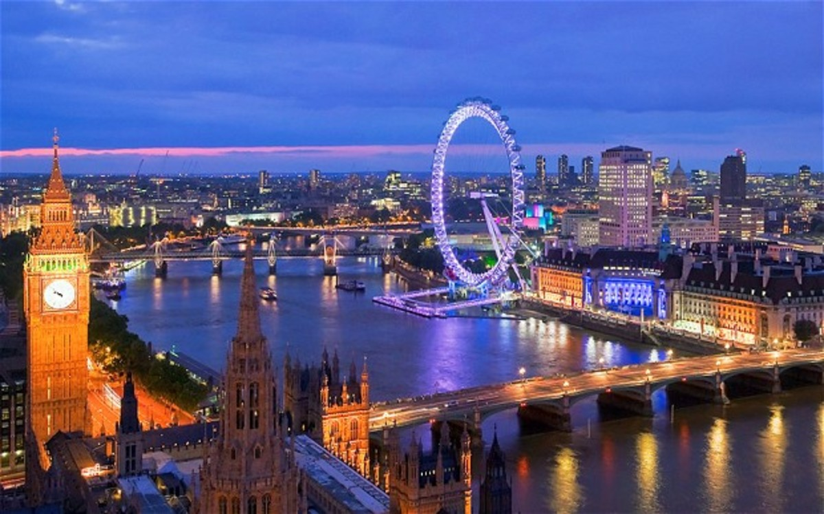 London, England. The British capital is home to the suburb of Greenwich.
