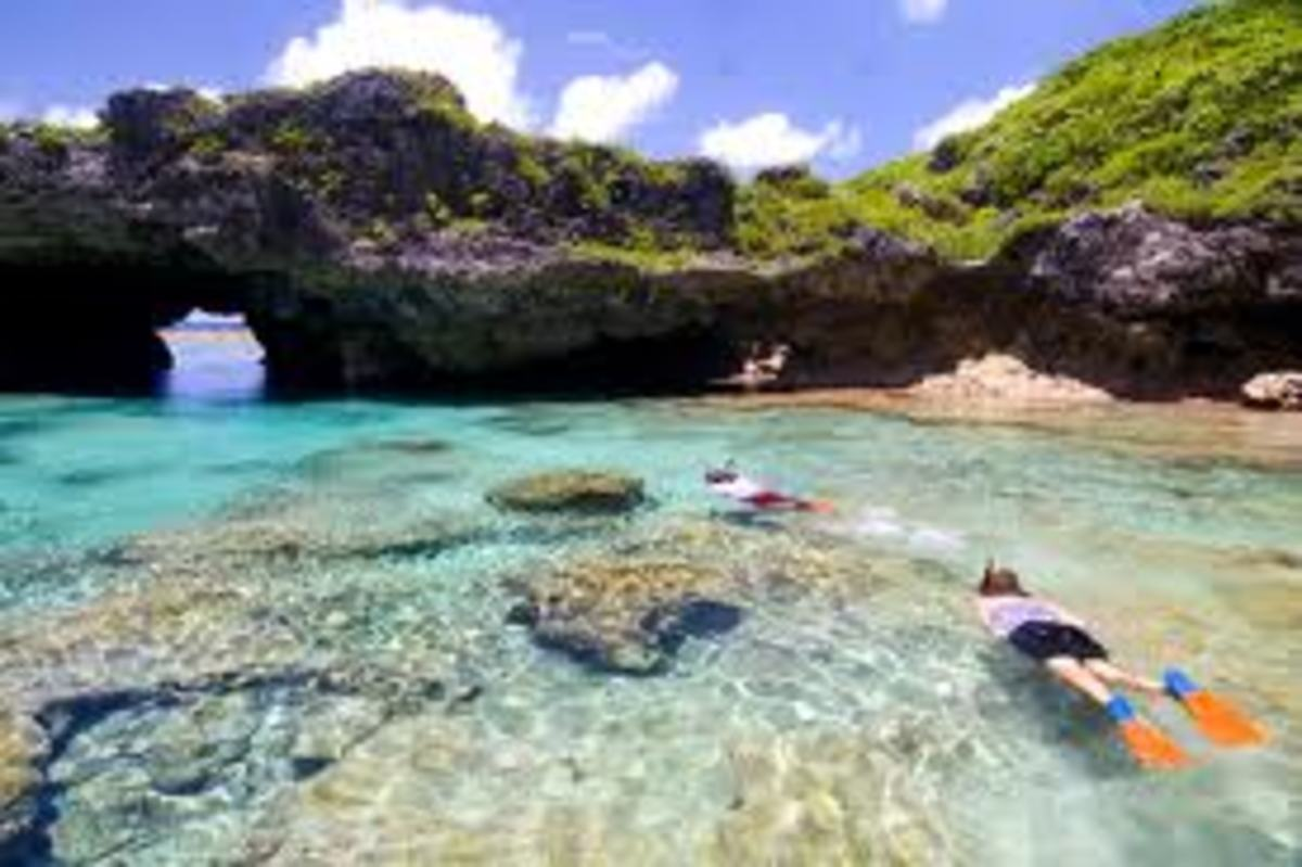A photo taken somewhere in Niue.