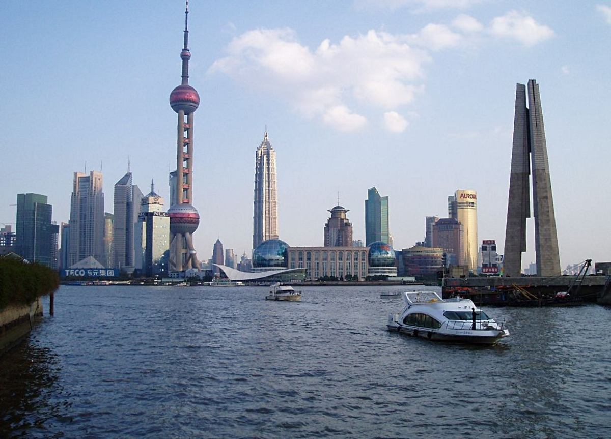 Shanghai - China's financial hub and easternmost major city.
