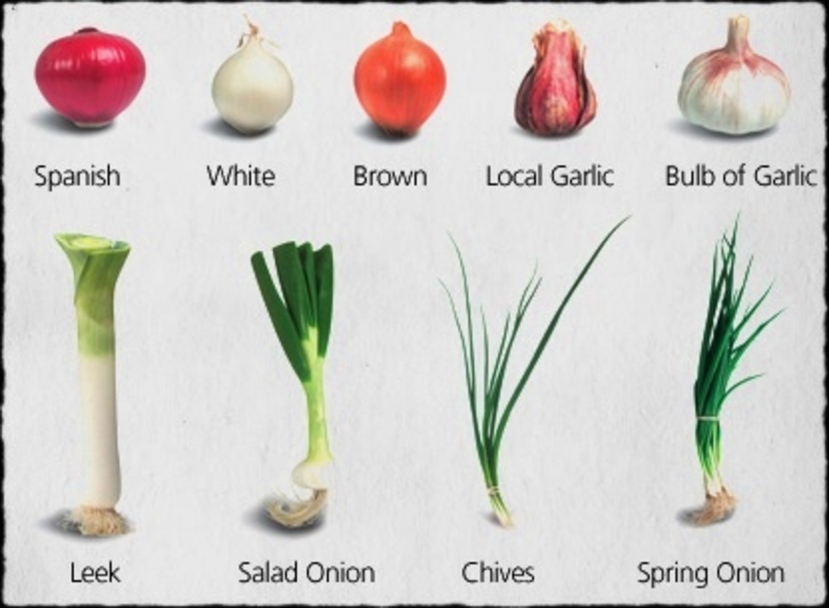 Onions and Garlic are rich in flavenoids that inhibit inflammatory reactions and help with seasonal allergies.