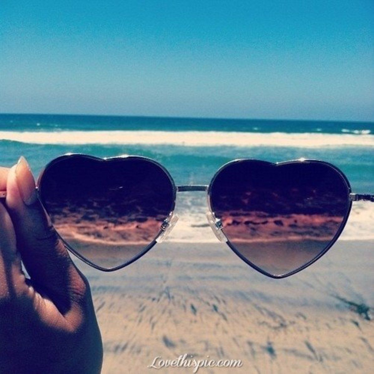 Sunglasses can help with seasonal allergy relief because they protect the eyes from allergen's floating around in the air.