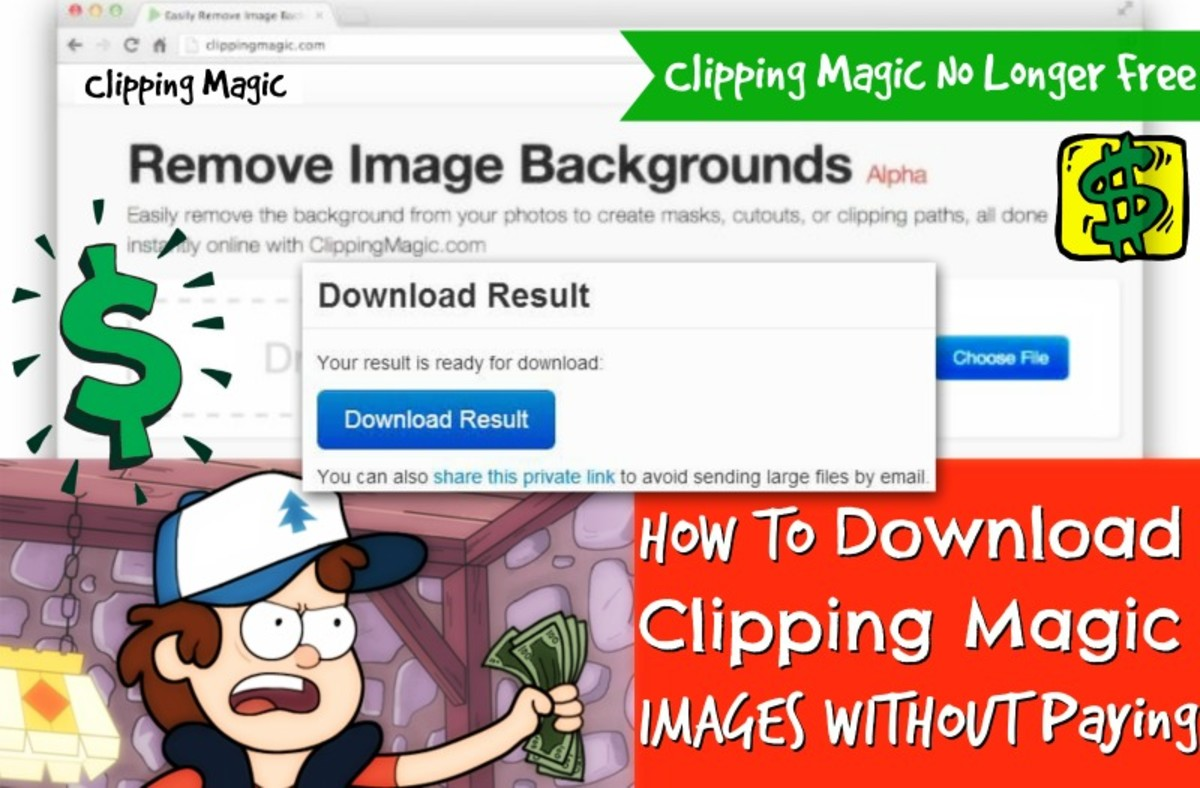 Barney is all set to download Images from clipping magic but little does he know that he can download them without paying anything