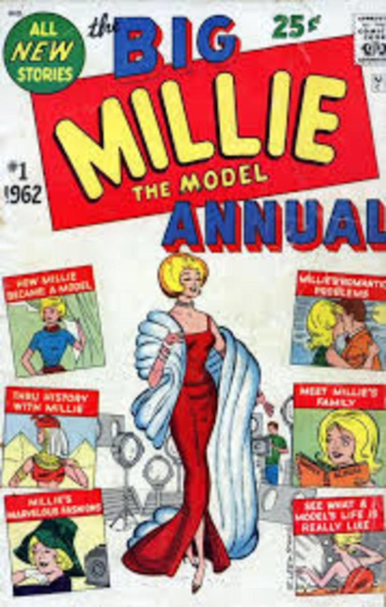 Millie's 1962 groovy annual.