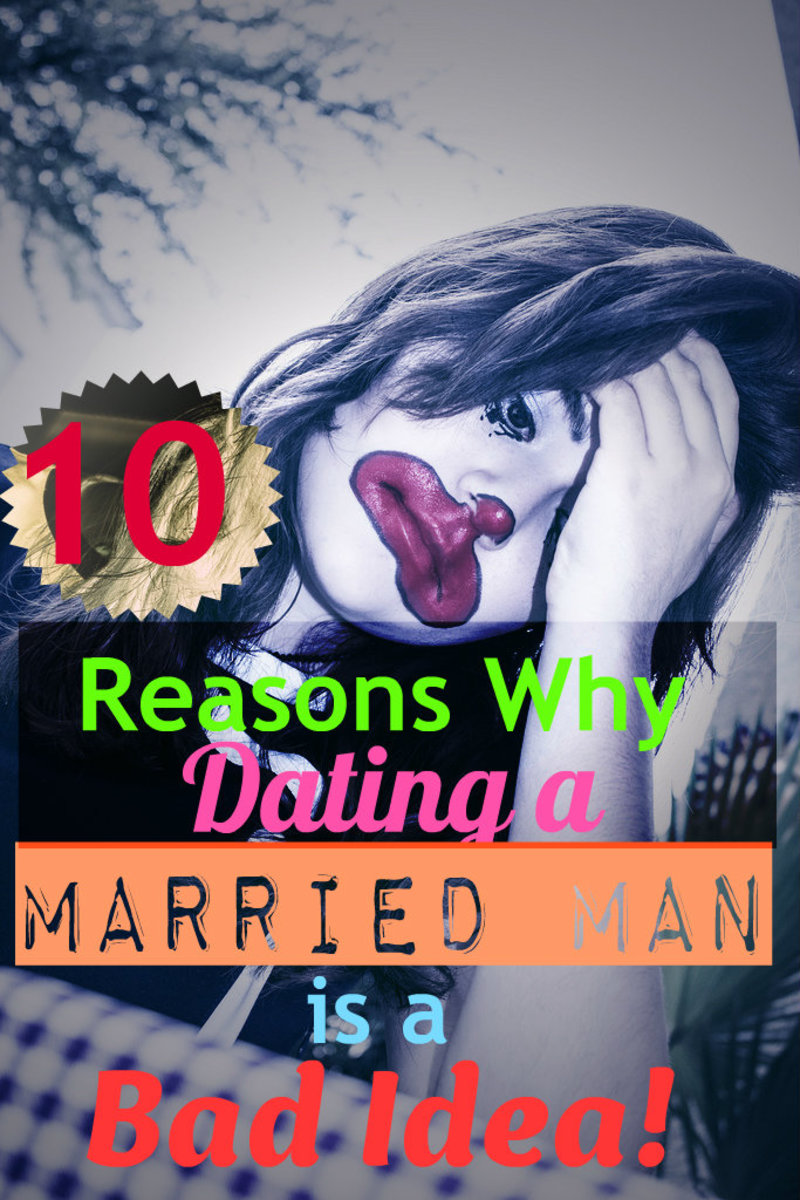 10 Reasons Why Dating a Married Man is a Bad Idea!
