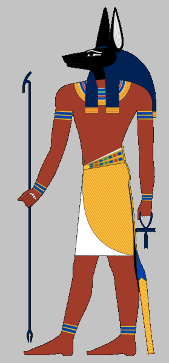 Anubis - Son of Nepthys and Set