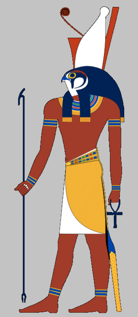 Horus as Pharaoh