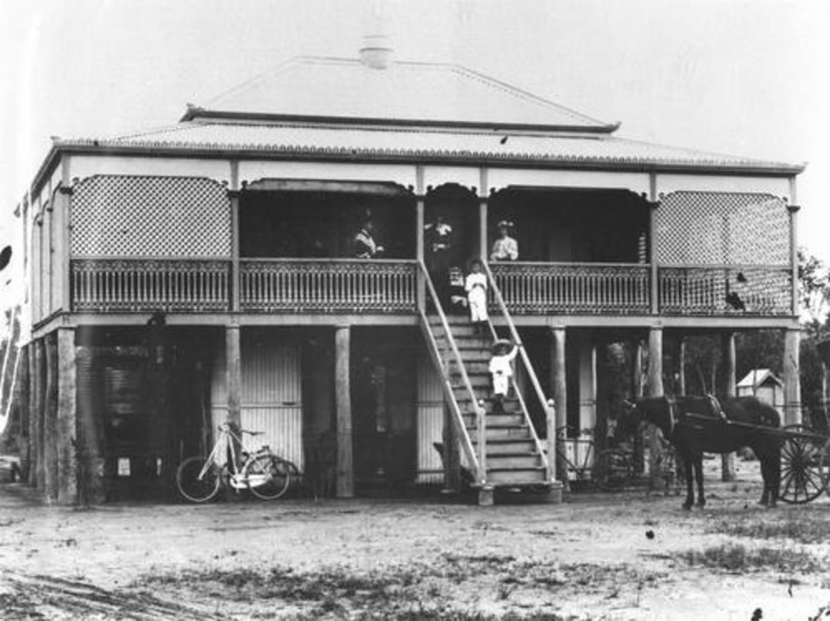 Federation Queenslander ca. 1905