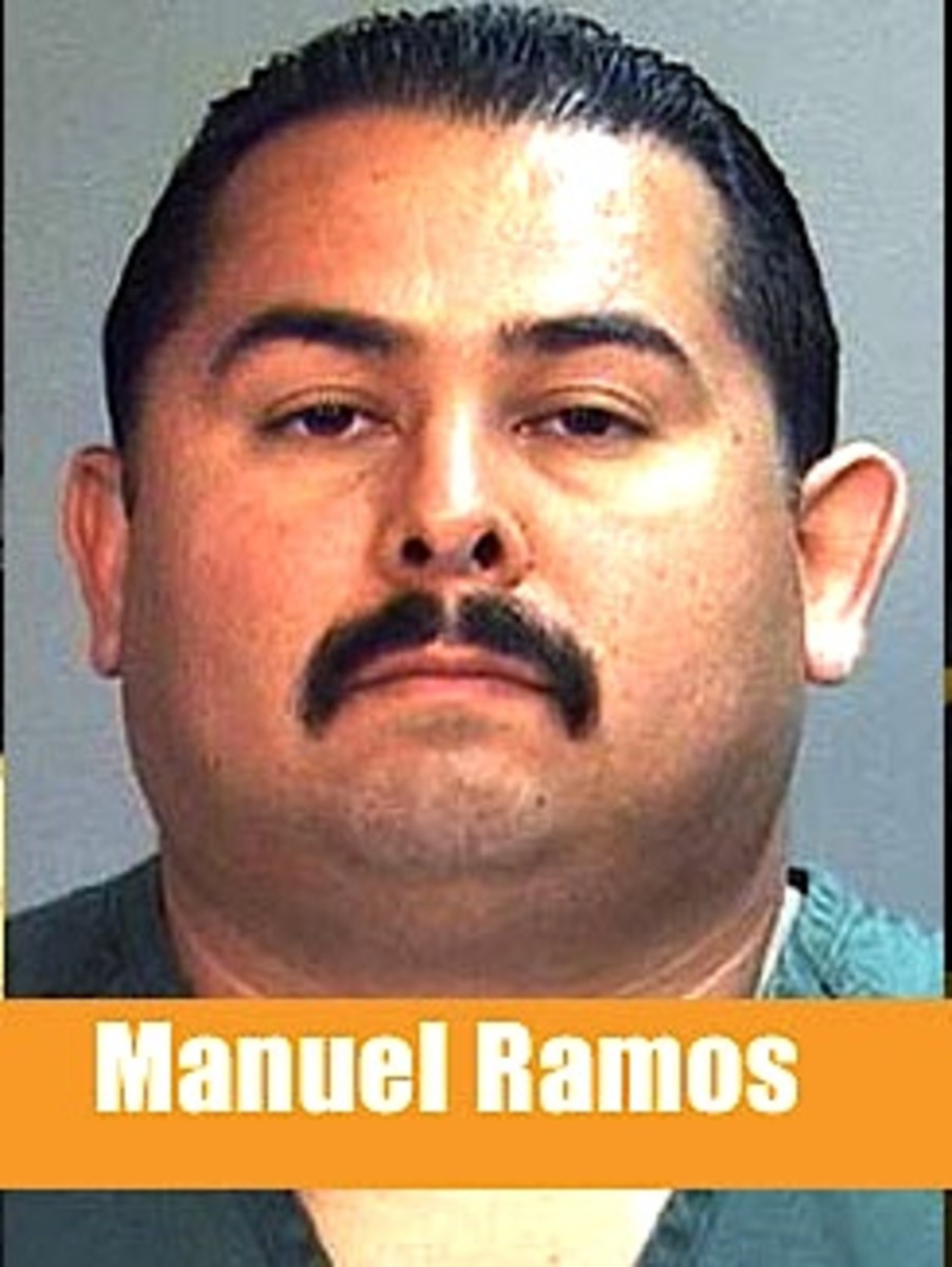 One of 3 policemen who beat Kelly Thomas who later died from his injuries.  Ramos was acquitted of all charges.