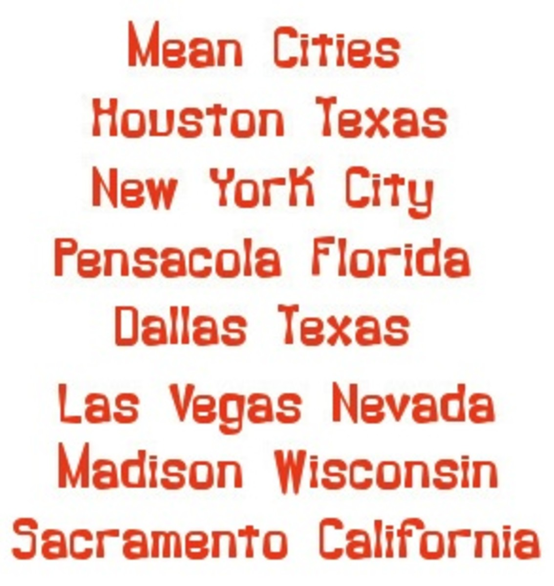 Cities all across the USA are making it against the law to be poor, and even against the law to help poor people!  This is the mini-list of those cities.
