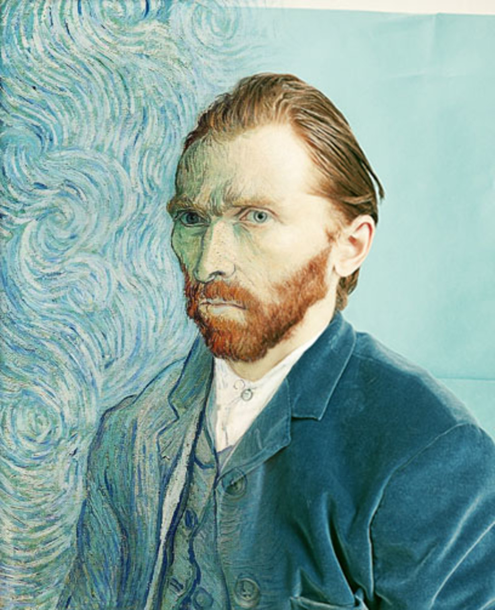 Photographer Tadao Cern recently created  photo of Van Gogh  to recreate it as a still photo.
