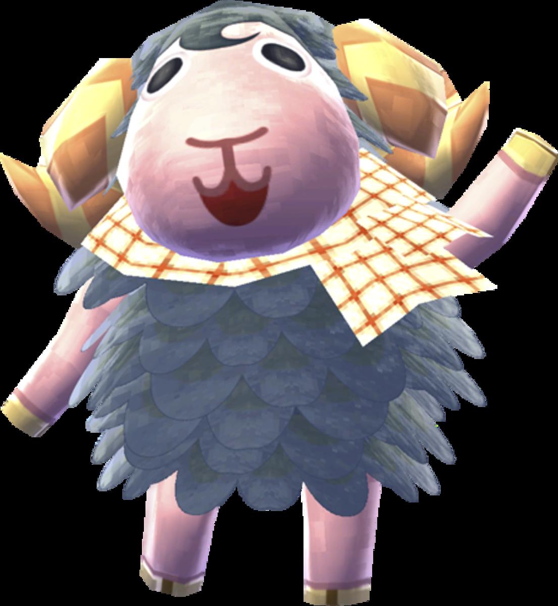 Eunice the Sheep