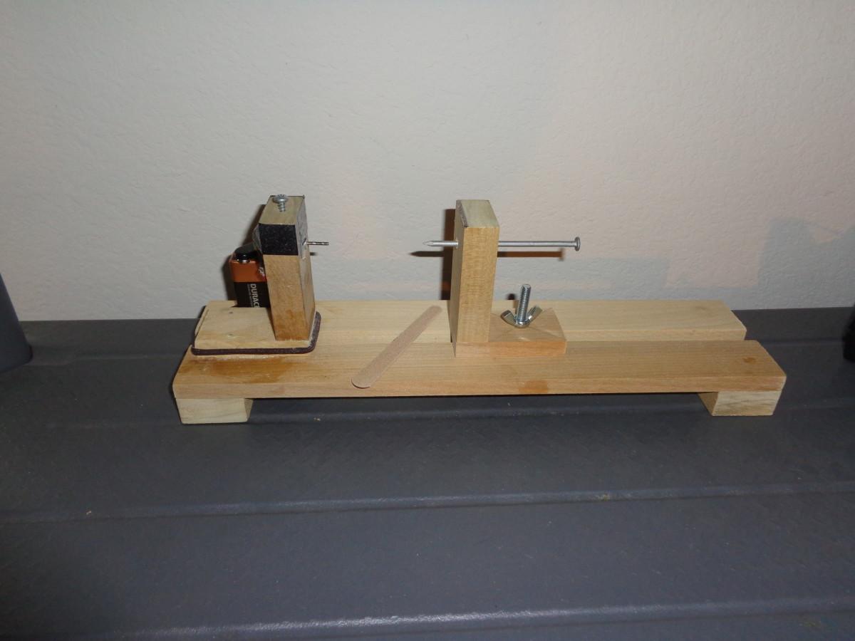 Mini Balsa Wood Lathe
