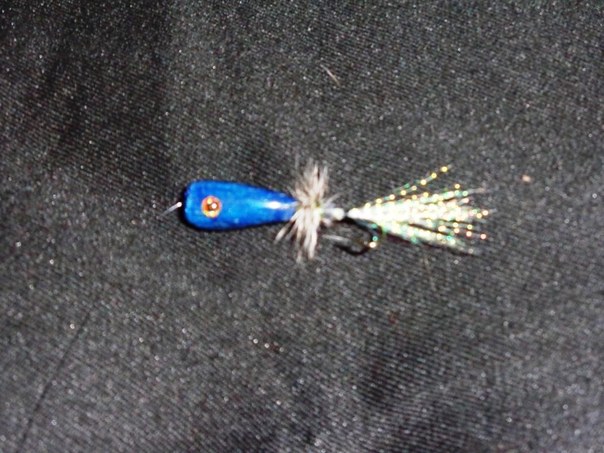 Tube Popper Fly