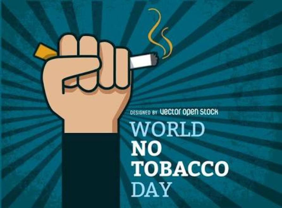 World no tobacco day! --WHO