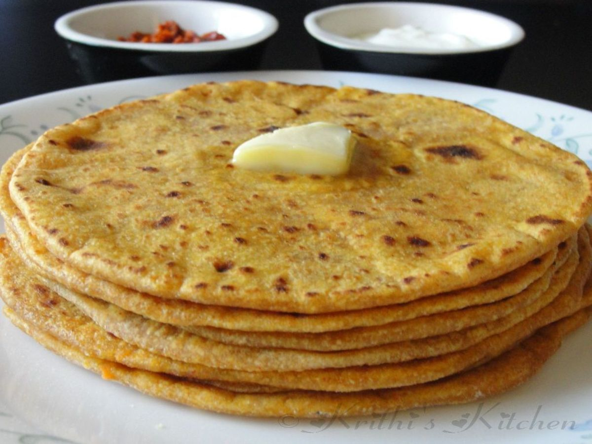 Traditional Way To Make 'Roti' an Unleavened Bread : From Grain To Dish